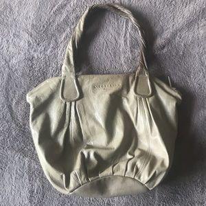 Liebskind taupe bag, lightweight and lovely design